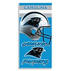 NFL Carolina Panthers Shadow 30-Inch x 60-Inch Beach Towel