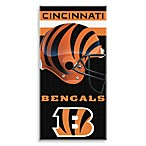 NFL Cincinnati Bengals Shadow 30-Inch x 60-Inch Beach Towel