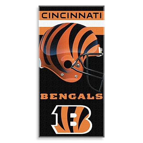 NFL Cincinnati Bengals Shadow Beach Towel
