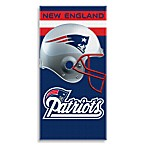 NFL New England Patriots Shadow 30-Inch x 60-Inch Beach Towel