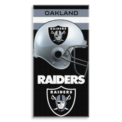 NFL Oakland Raiders Shadow 30-Inch x 60-Inch Beach Towel