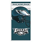 NFL Philadelphia Eagles Shadow 30-Inch x 60-Inch Beach Towel