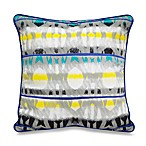 Surf City 16-Inch Square Toss Pillow