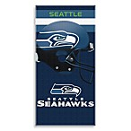NFL Seattle Seahawks Shadow 30-Inch x 60-Inch Beach Towel