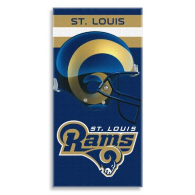 NFL St. Louis Rams Shadow 30-Inch x 60-Inch Beach Towel