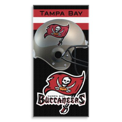 NFL Tampa Bay Buccaneers Shadow 30-Inch x 60-Inch Beach Towel