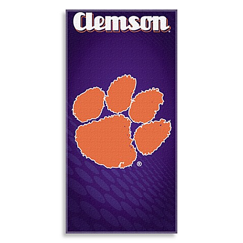Clemson University Collegiate Beach Towel