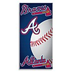 MLB Atlanta Braves 30-Inch x 60-Inch Beach Towel
