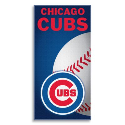 MLB Chicago Cubs 30-Inch x 60-Inch Beach Towel