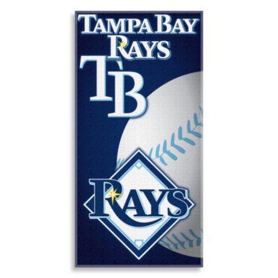 MLB Tampa Bay Rays 30-Inch x 60-Inch Beach Towel