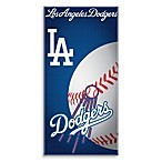 MLB Los Angeles Dodgers 30-Inch x 60-Inch Beach Towel