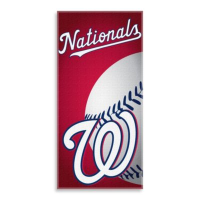 MLB Washington Nationals 30-Inch x 60-Inch Beach Towel