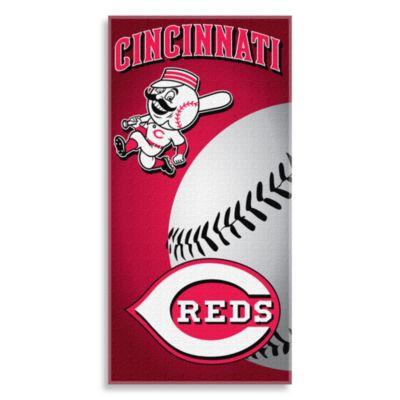 MLB Cincinnati Reds 30-Inch x 60-Inch Beach Towel