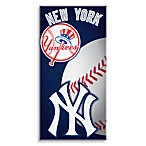 MLB New York Yankees 30-Inch x 60-Inch Beach Towel