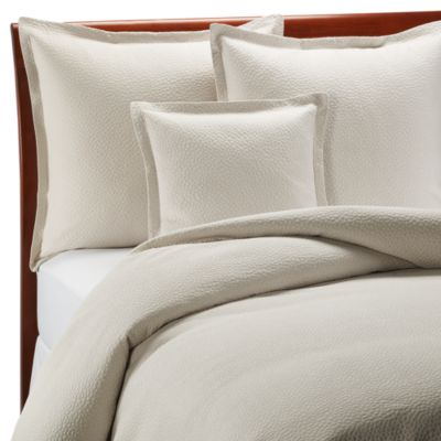 Barbara Barry Beautiful Basics Cloud Nine European Pillow Sham in Pearl