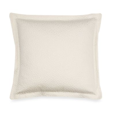 Barbara Barry® Beautiful Basics Cloud Nine 18-Inch Square Toss Pillow in Pearl
