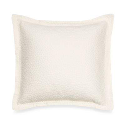 Barbara Barry Beautiful Basics Cloud Nine 18-Inch Square Throw Pillow in Moonglow