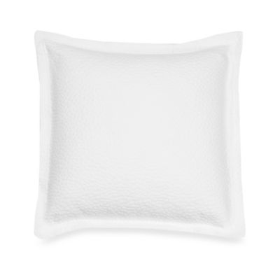Barbara Barry Beautiful Basics Cloud Nine 18-Inch Square Throw Pillow in Pure White