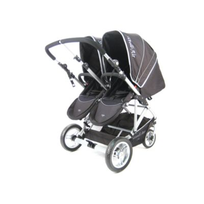 Stroll-Air My Duo Stroller in Black