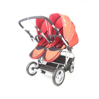 Stroll-Air My Duo Stroller in Red