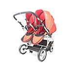 Stroll-Air My Duo Stroller and Accessories in Red
