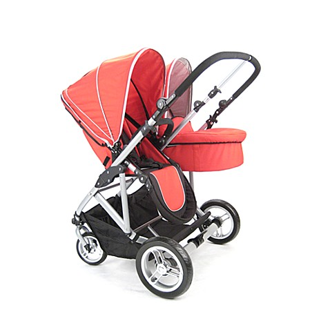 Stroll Air My Duo Bassinet in Red