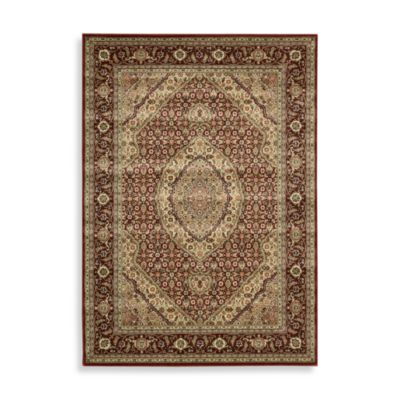 Nourison Persian Arts 5-Foot 3-Inch Octagonal Rug in Kashan Brick