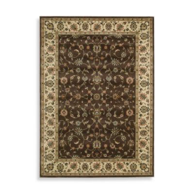 7' 5 Brown Room Rug