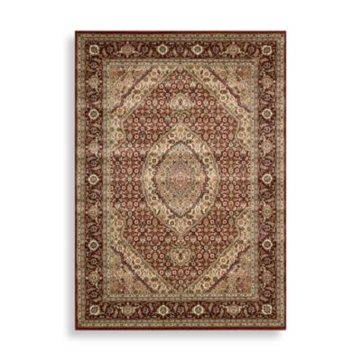 Nourison Persian Arts Mahi 5-Foot 3-Inch x 7-Foot 5-Inch Rectangle Rug in Brick