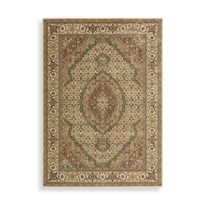 Nourison Persian Arts Mahi 5-Foot 3-Inch x 7-Foot 5-Inch Rug in Ivory
