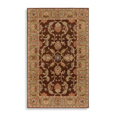 Surya Paterson Wool 4-Foot x 6-Foot Rug in Chocolate