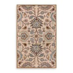 Elizabeth Wool Rectangle Rugs in Roman Beige