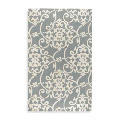 Edison 2-Foot x 3-Foot Rectangle Rug in Serenity Blue