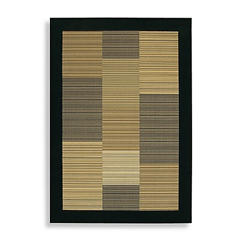 "Couristan® Everest Collection Hamptons Multi Black 9' 2"" x 12' 5"" Rectangle Rug"