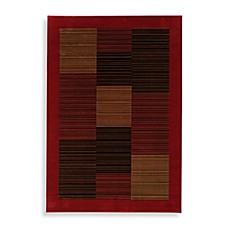 Couristan® Everest Collection Hamptons Rectangle Rugs in Red