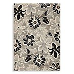 Couristan® Everest Collection Wild Daisy Rectangle Rugs in Grey