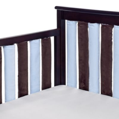 Go Mama Go Designs 24-Pack Blue and Chocolate Wonder Bumpers