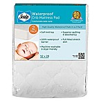 Sealy® Waterproof Crib Mattress Pads Pad Covers (Set of 2)