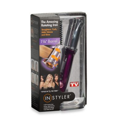 Instyler® Rotating Flat Iron Purple