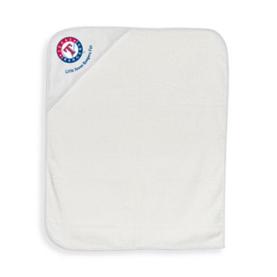 MLB Hooded Baby Towel in Texas Rangers