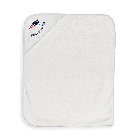 NFL Hooded Baby Towel in New England Patriots