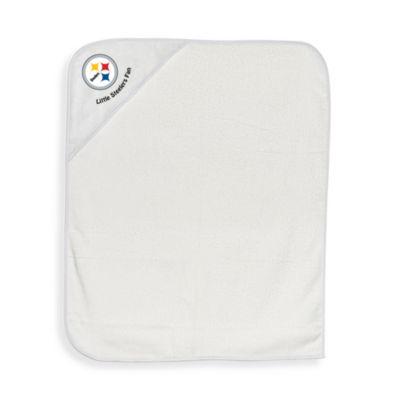NFL Hooded Baby Towel in Pittsburgh Steelers