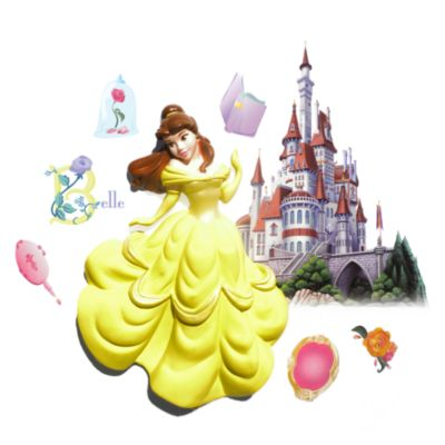 Disney® 3D Wall Art in Belle