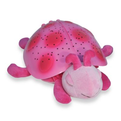 Constellation Nightlight: Twilight Ladybug by cloud B in Pink
