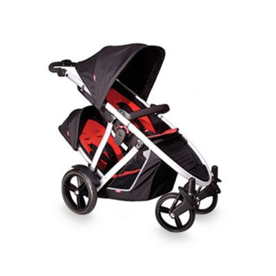 Phil & Teds® Verve™ Double Kit in Black/Red