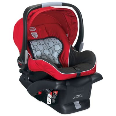 Infant Car Seats > BRITAX B-Safe Infant Car Seat in Red