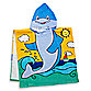 Dolphin Hooded Beach Towel