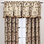 Palm Chenille Window Curtain Panels