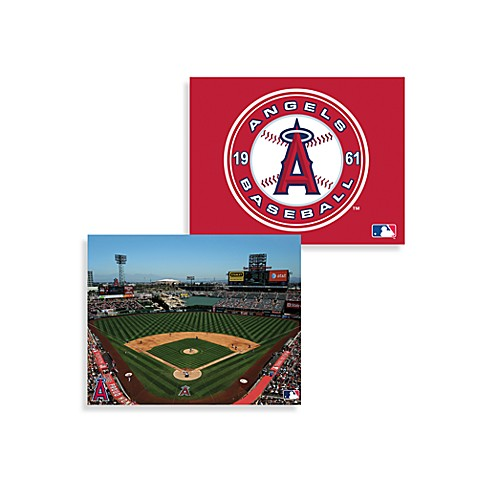 MLB Los Angeles Angels of Anaheim Canvas Wall Art
