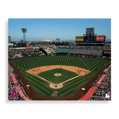 MLB Los Angeles Angels of Anaheim Stadium Canvas Wall Art